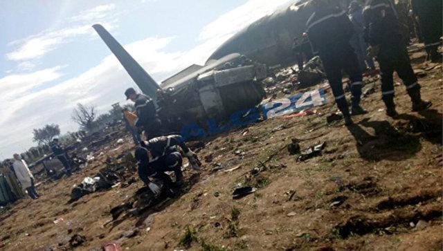 Число погибших при крушении самолета в Алжире выросло до 247