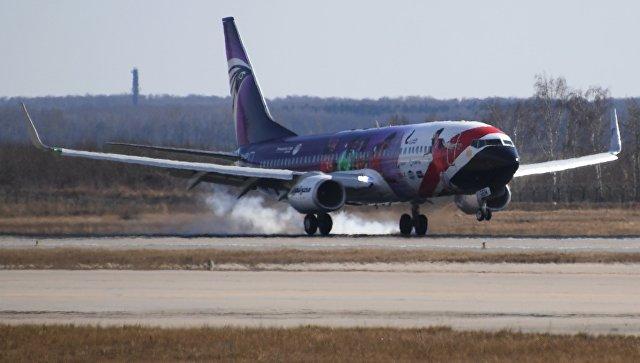 Самолет авиакомпании EgyptAir в аэропорту Домодедово. Архивное фото