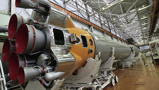 Цех сборки ракетных двигателей. Архивное фото