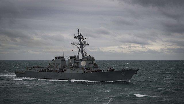 ВСредиземное море вошел американский эсминец USS Winston S. Churchill