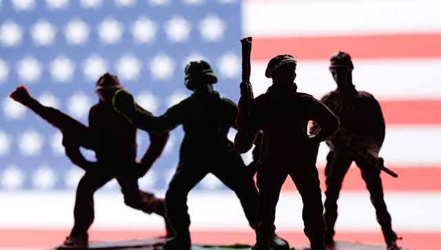Игрушечные американские солдаты