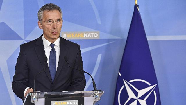 НАТО намерена помогать Грузии вступить в альянс, заявил Столтенберг