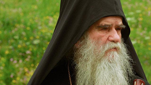 Митрополит Черногорско-Приморский Сербской православной церкви Амфилохий. Архивное фото