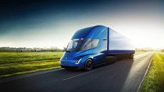 Электрический грузовик с функциями автопилота Tesla Semi