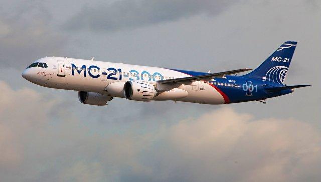Авиакомпания Syrian Air ведет с Россией переговоры о закупке лайнеров МС-21