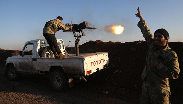 Боевики Сирийской свободной армии