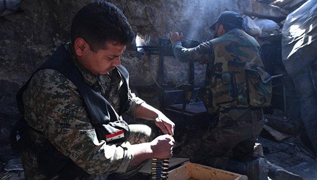 Солдаты в Сирии. Архивное фото