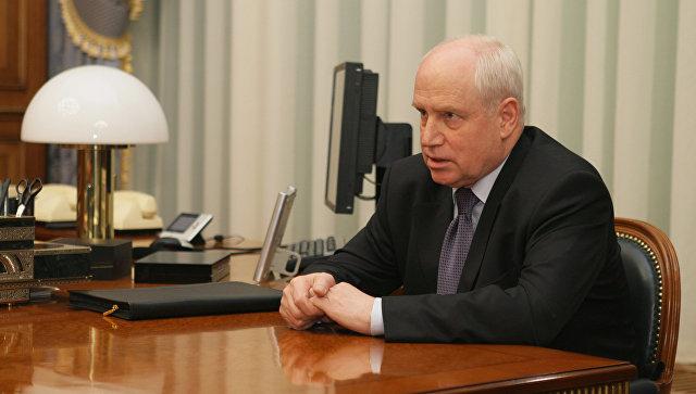 Исполнительный секретарь СНГ Сергей Лебедев. Архивное фото