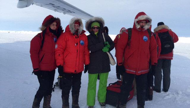 Экспедиция группы школьников на Северный полюс