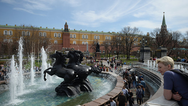 Собянин сказал оботкрытии сезона фонтанов в столицеРФ