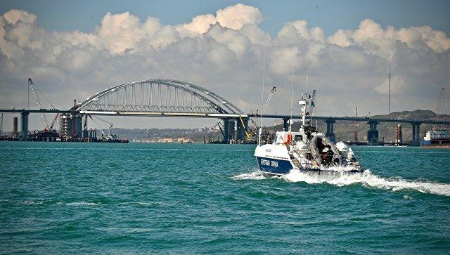 Путин примет участие в открытии моста через Керченский пролив 15 мая