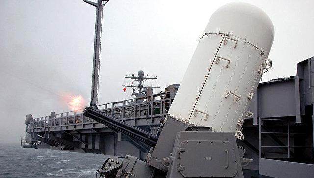 Корабельный зенитный артиллерийский комплекс Phalanx MK-15. Архивное фото