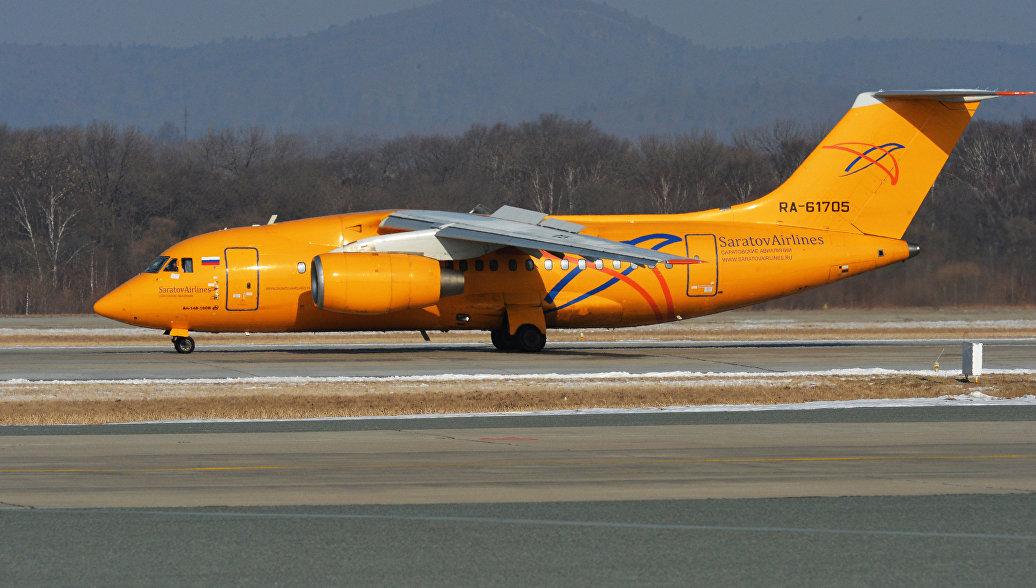 Самолет авиакомпании Саратовские авиалинии. Архивное фото