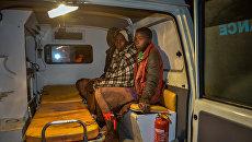 Машина скорой помощи в Кении. Архивное фото
