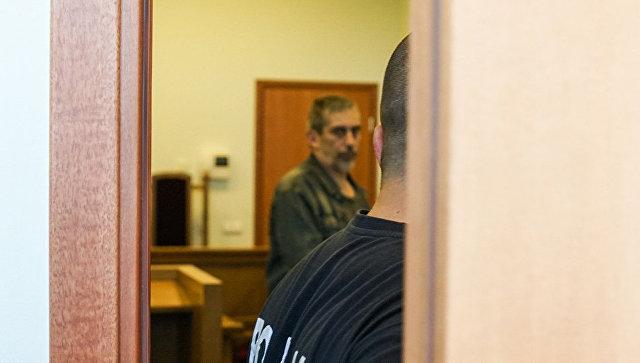 Владимир Линдерман на заседании суда в Риге