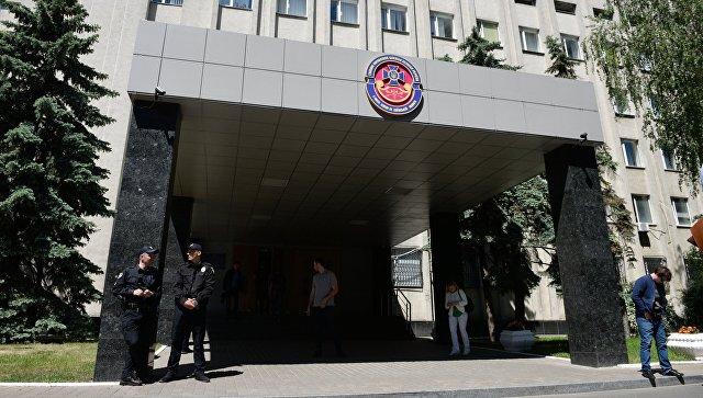 Здание Главного управления Службы безопасности Украины в Киеве. Архивное фото