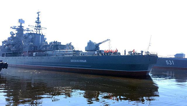 КоДню города вКронштадте появится 1-ый большой корабль-музей