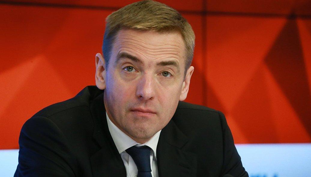 Cтатс-секретарь, заместитель министра промышленности и торговли РФ Виктор Евтухов. Архивное фото