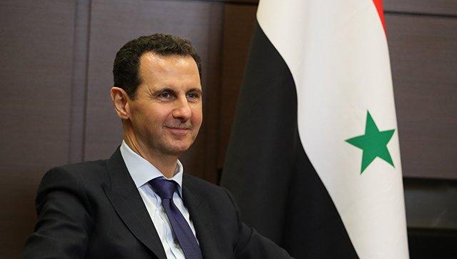 Президент Сирийской арабской республики Башар Асад. Архивное фото