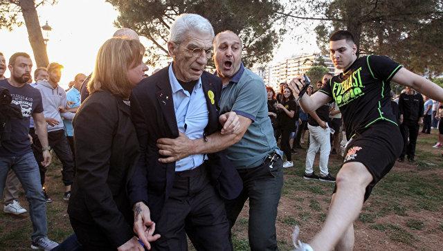 Два участника нападения на главы города Салоников арестованы вГреции