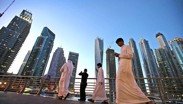 Туристы в Дубае. Архивное фото