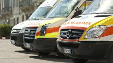Автомобили скорой помощи в Италия. Архивное фото