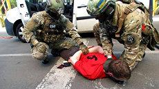 Задержание сотрудниками СБУ подозреваемого в подготовке терактов на Евро-2016. 6 июня 2016