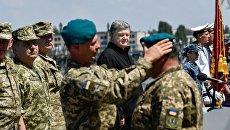Президент Украины Петр Порошенко в Николаевской области. 23 мая 2018