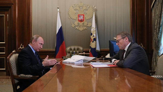 Анонсирована встреча В.Путина сбизнес-омбудсменом Титовым