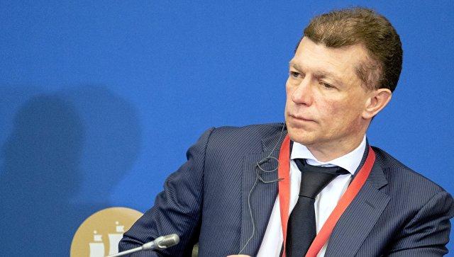 Максим Топилин на Петербургском международном экономическом форуме. 24 мая 2018