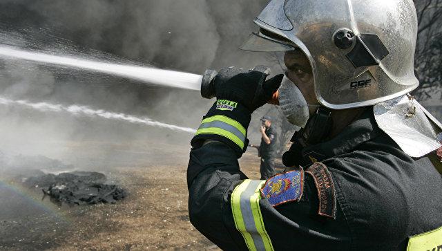 Сотрудник пожарной службы Греции. Архивное фото
