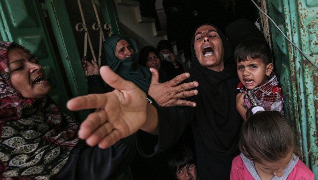 Израиль атаковал позиции Хамас всекторе Газа