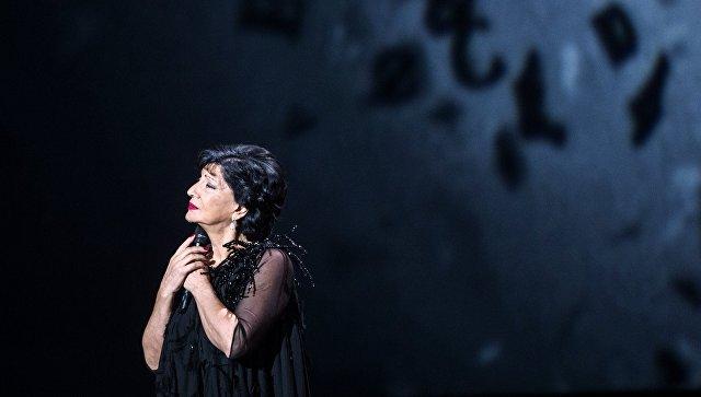Певица Нани Брегвадзе