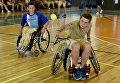 Cоревнование по теннису на колясках в МДЦ Артек