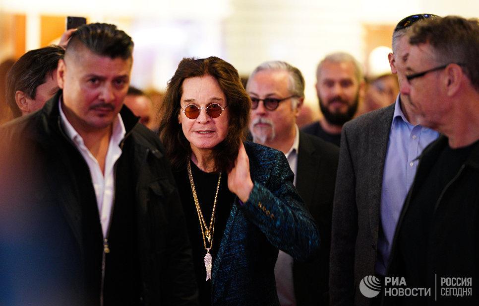 Оззи Осборн выступит в российской столице врамках последнего мирового тура