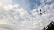 Самолет госслужбы Украины по ЧС во время ликвидации возгорания в Чернобыльской зоне отчуждения. Архивное фото
