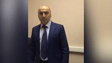Кадры задержания купившего пост начальника МВД Дагестана Магомеда Хизриева