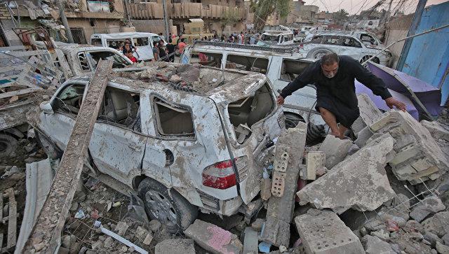 Семь человек погибли, десятки ранены в итоге  2-х  взрывов вБагдаде