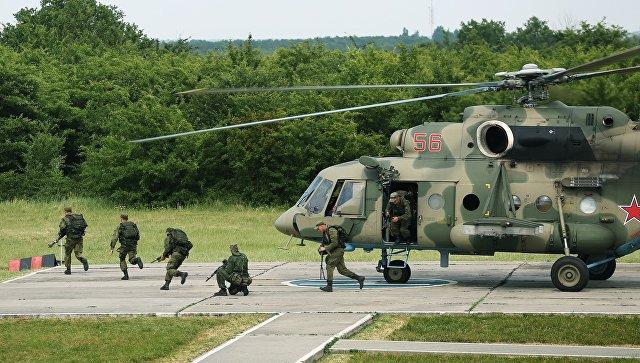 Военнослужащие подразделений специального назначения Южного военного округа. Архивное фото