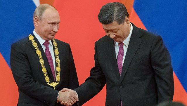 Владимир Путин первым среди глав государств получил китайский орден Дружбы