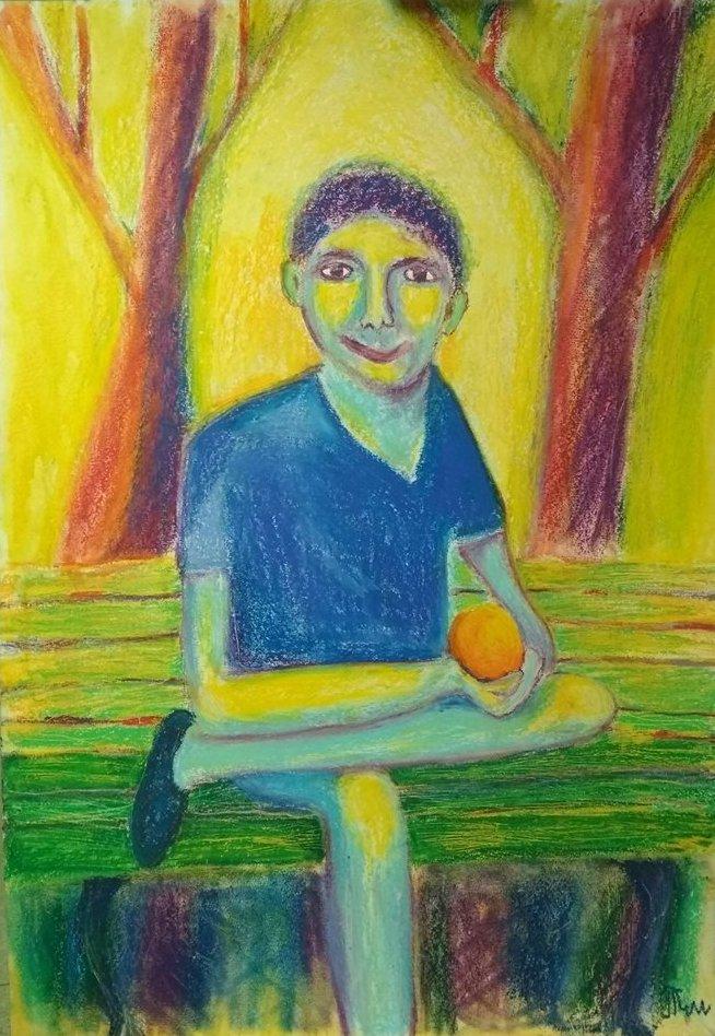 Одна из картин Тима Штромана.