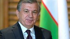 Президент Республики Узбекистан Шавкат Мирзиёев. 9 июня 2018
