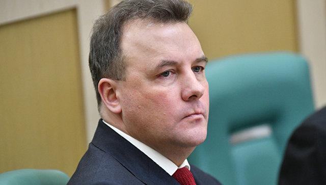 Полномочный представитель президента РФ в Совете Федерации РФ Артур Муравьев. Архивное фото