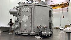 Вакуумная камера для лазерно-плазменных экспериментов
