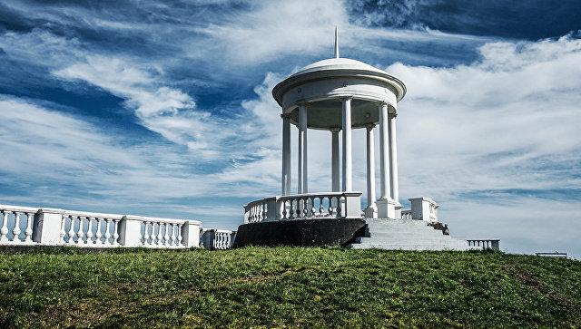 Беседка ветров на территории Крымского природного заповедника