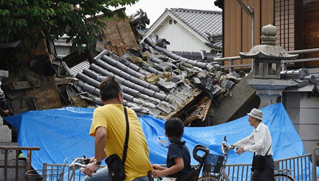 Последствия землетрясения в Японии. 18 июня 2018