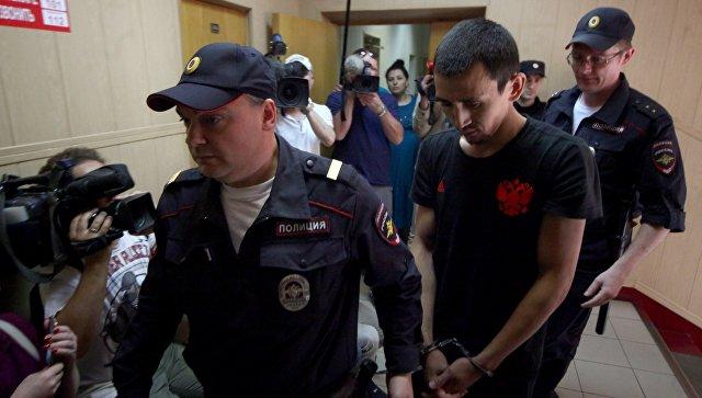 Рассмотрение в Таганском суде ходатайства об аресте таксиста, сбившего пешеходов на ул. Ильинка