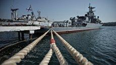 Военно-морская база Черноморского флота РФ в Севастополе. Архивное фото