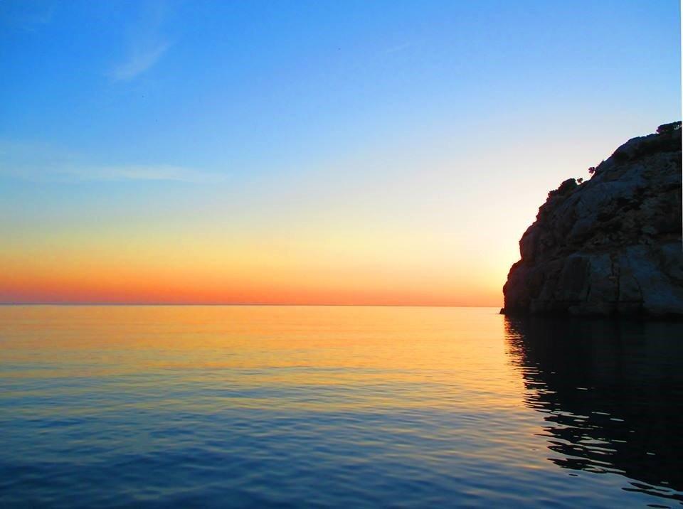 Бухта Ладико, остров Родос.