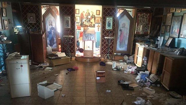 В Одессе осквернили и ограбили храм УПЦ Московского патриархата